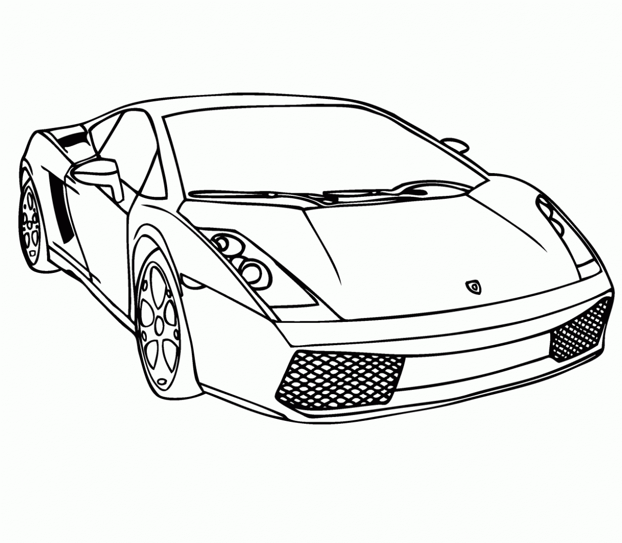 800x510 Download Lamborghini Coloring Pages 1258x1098 Drawn Traceable