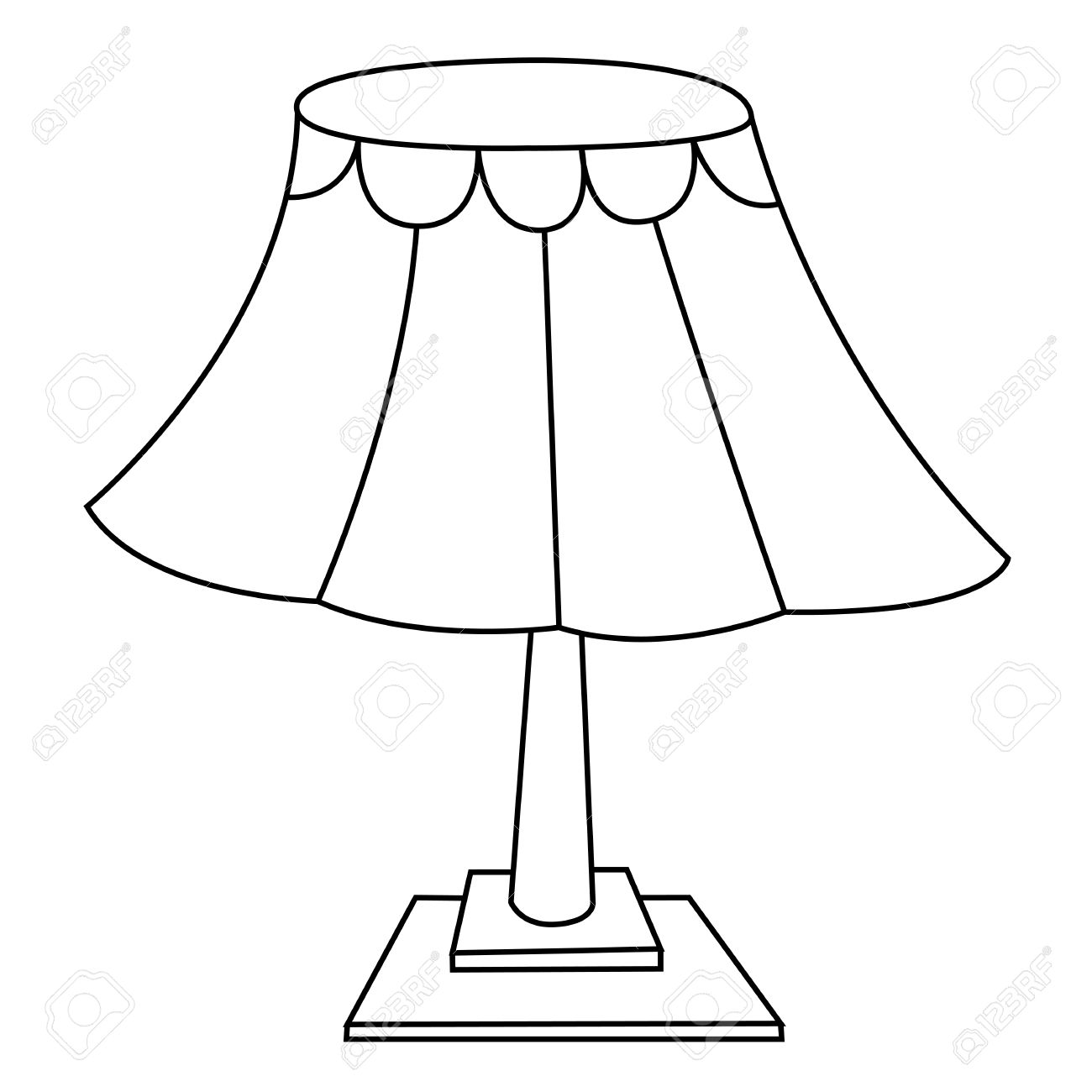 1300x1300 Lamp Outline Group