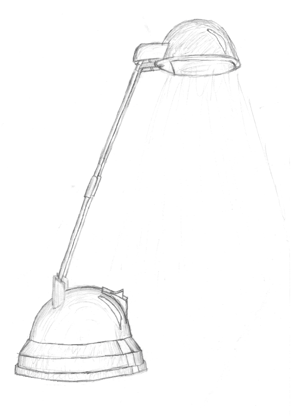 600x852 Lamp Sketch By Ohaithere On Newgrounds