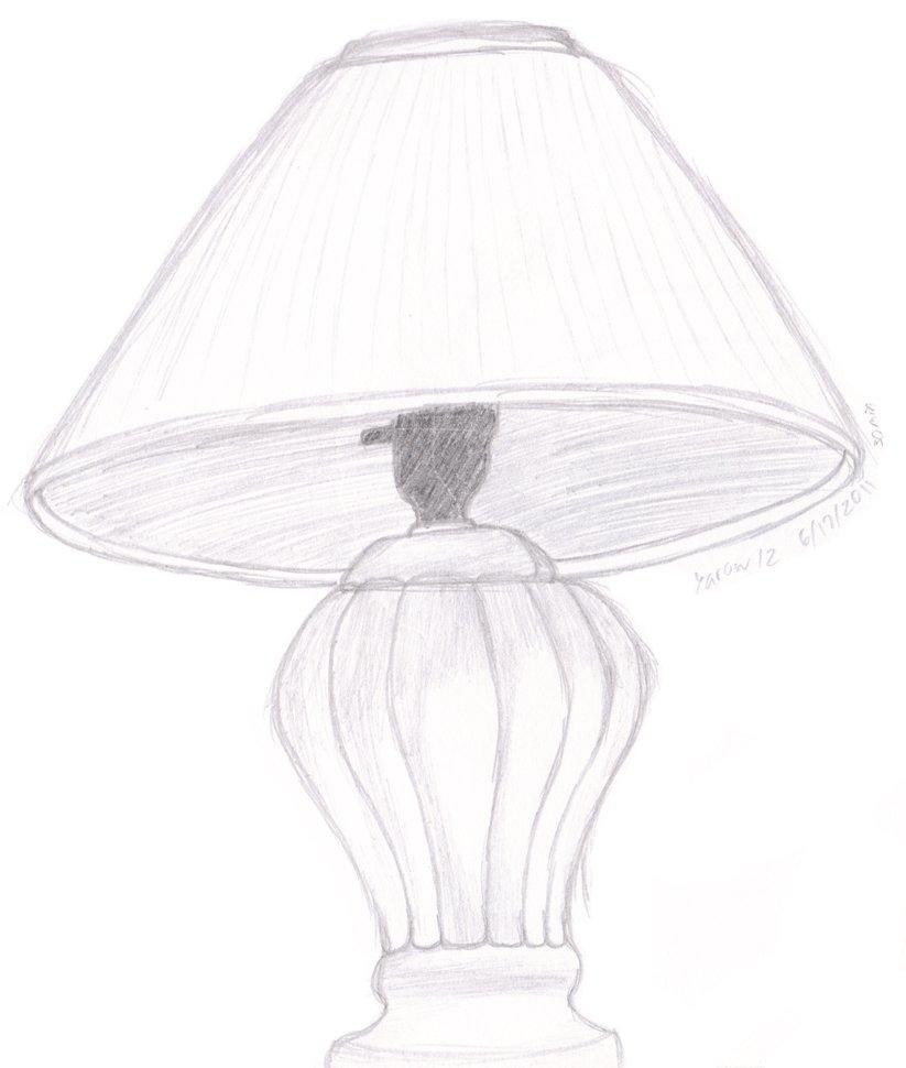 823x970 Lamp Sketch By Yarow12
