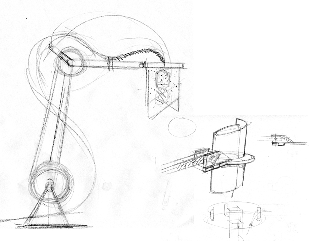 1024x768 Desk Lamp Mechanism Drawing
