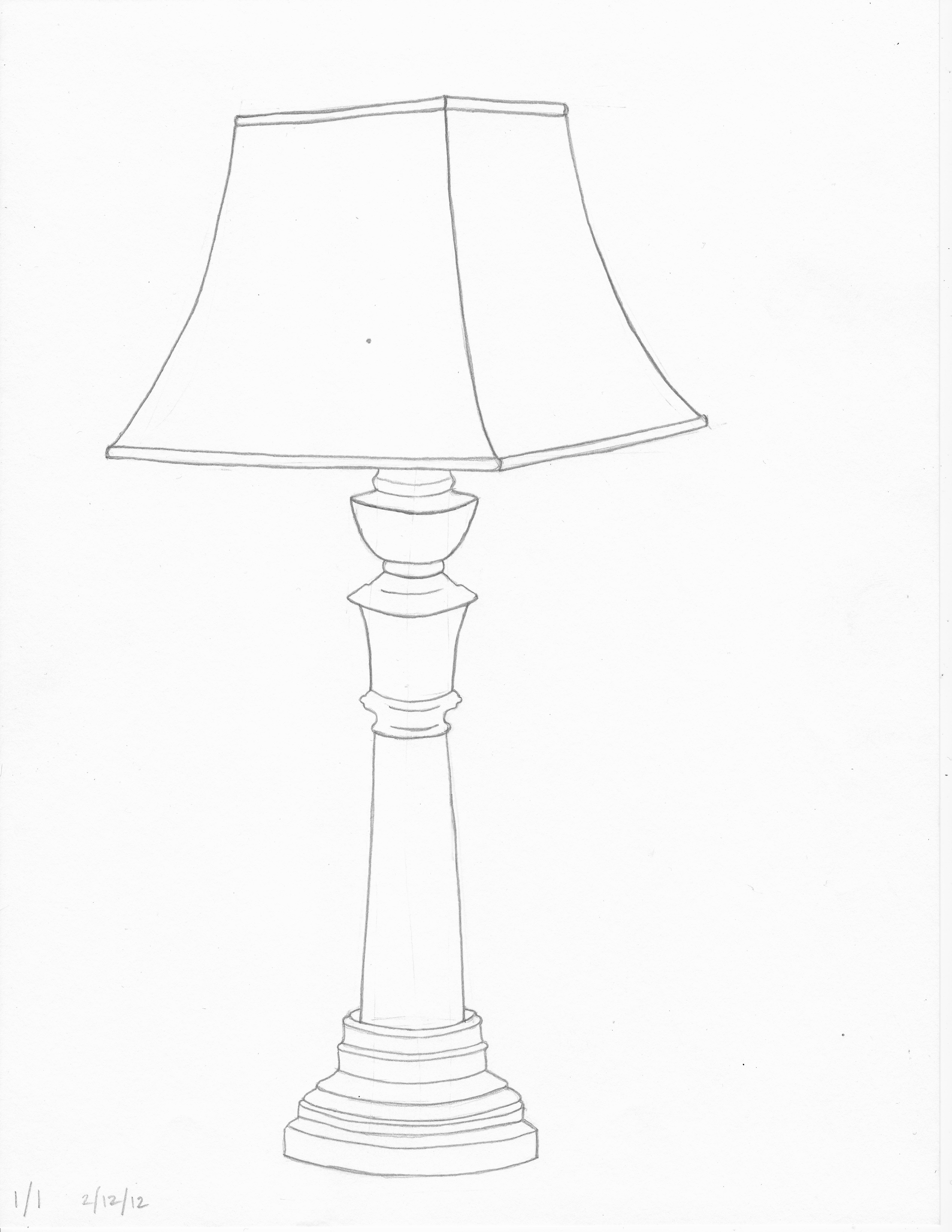 5099x6599 Lamp The Sketchbook Concern