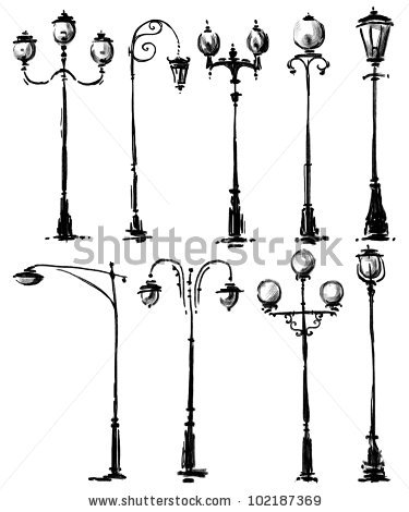 375x470 Lamp Post Collection
