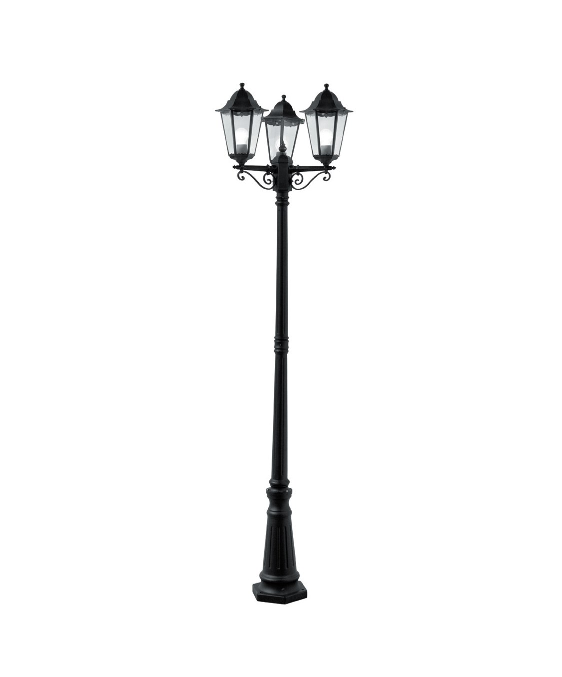 1125x1356 Searchlight Alex Traditional Outdoor Post Lamp