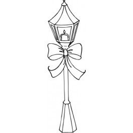264x264 Light Post Coloring Pages God Is Light Coloring Page
