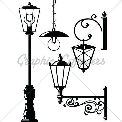 500x500 Old Street Lamp Old Street Lamp Model Obj 1 Street Lighting