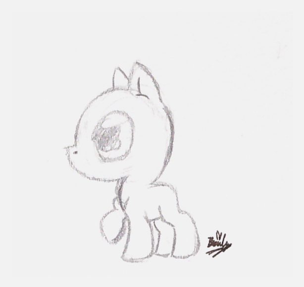 614x578 Young Pony Base Drawn By @kawaiibakemono And Inspired By The Hub'S
