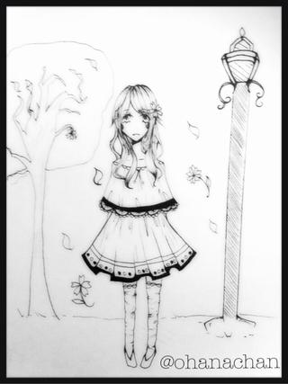 320x427 Lamppost Drawings On Paigeeworld. Pictures Of Lamppost