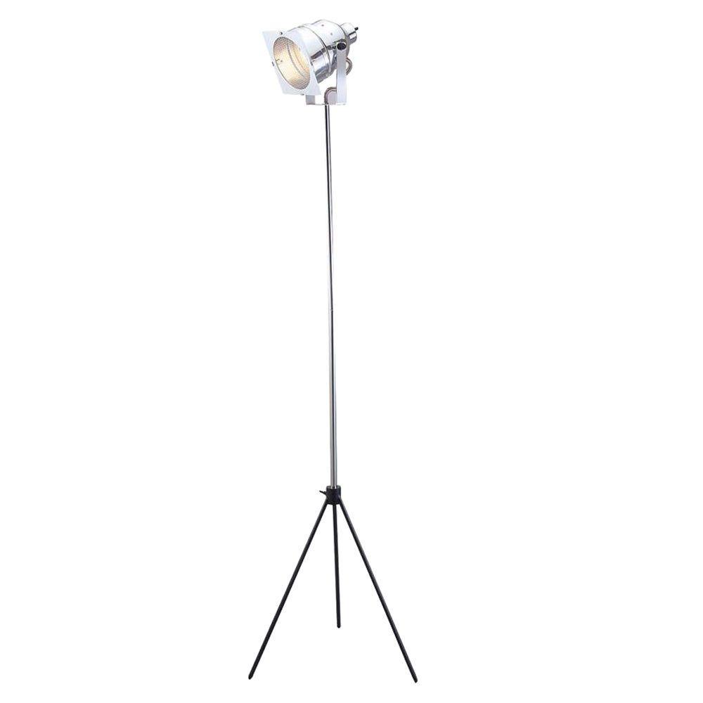 1000x1000 Adesso Spotlight 61 In. Chrome Floor Lamp 3051 22