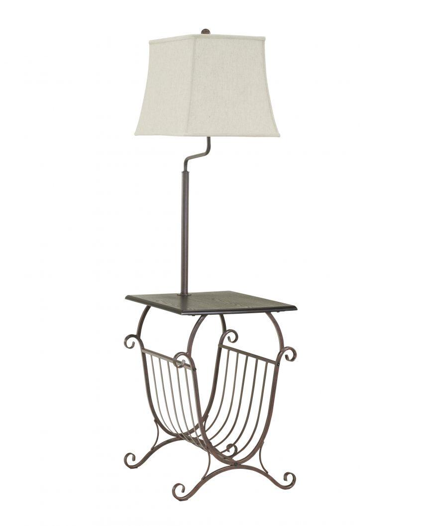 846x1058 Floor Lamps Ashley Furniture Nyssa Purple Metal Table Lamp Floor