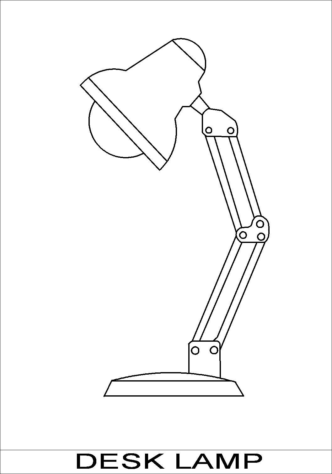 1058x1512 Lamp Design Drawings Modern Floor Lamps