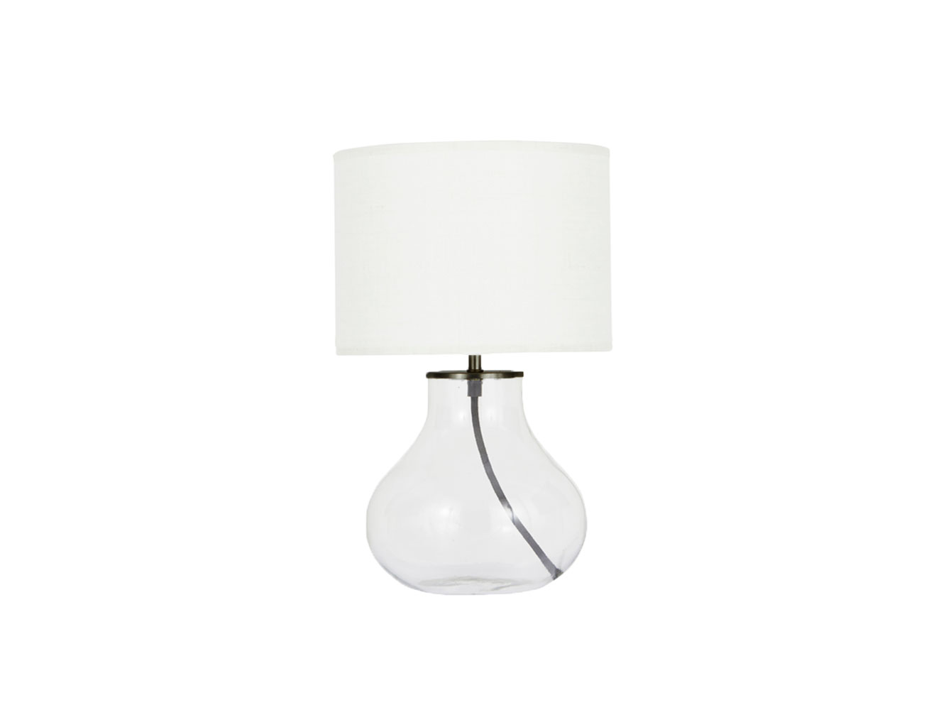 1333x1000 Bessy Lamp Small Glass Table Lamp Loaf