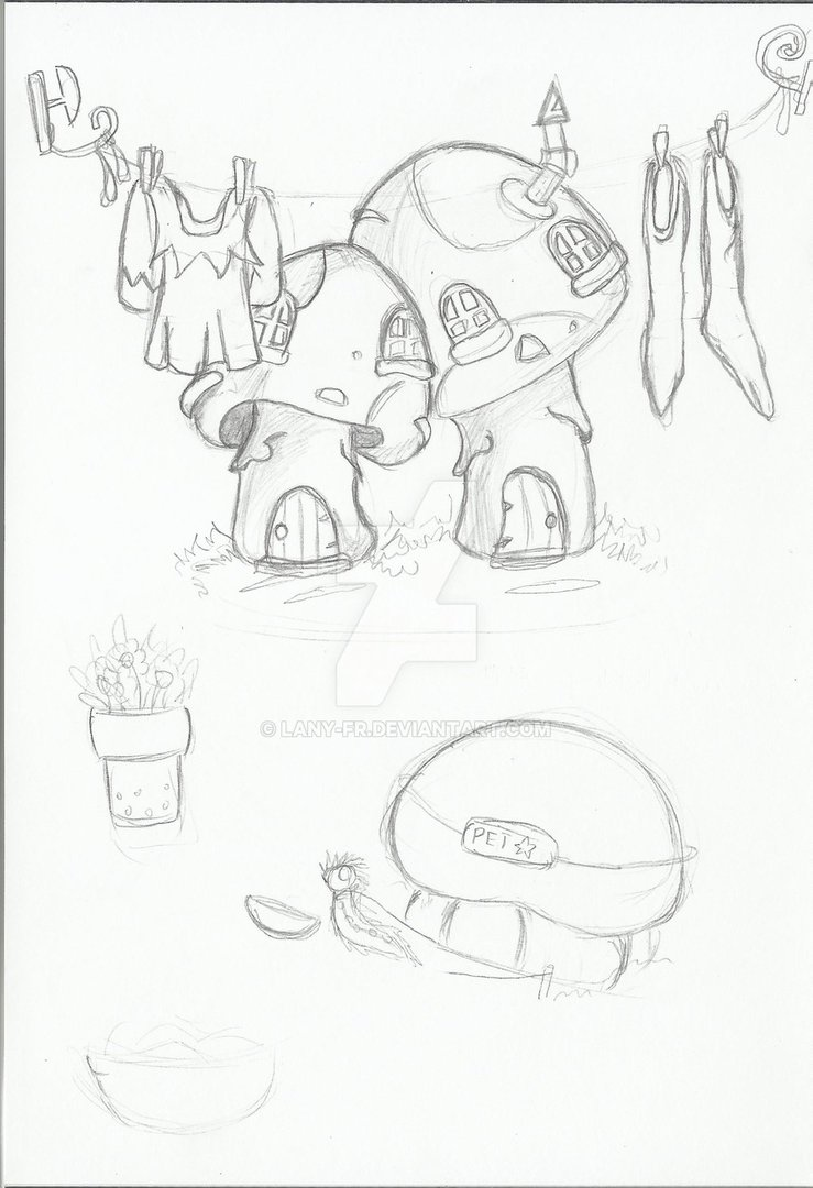 739x1080 Fairy Land Sketch 1 By Lany Fr