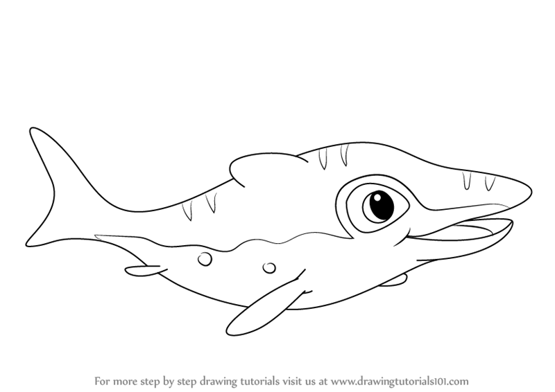 800x566 Learn How To Draw Mo From The Land Before Time (The Land Before