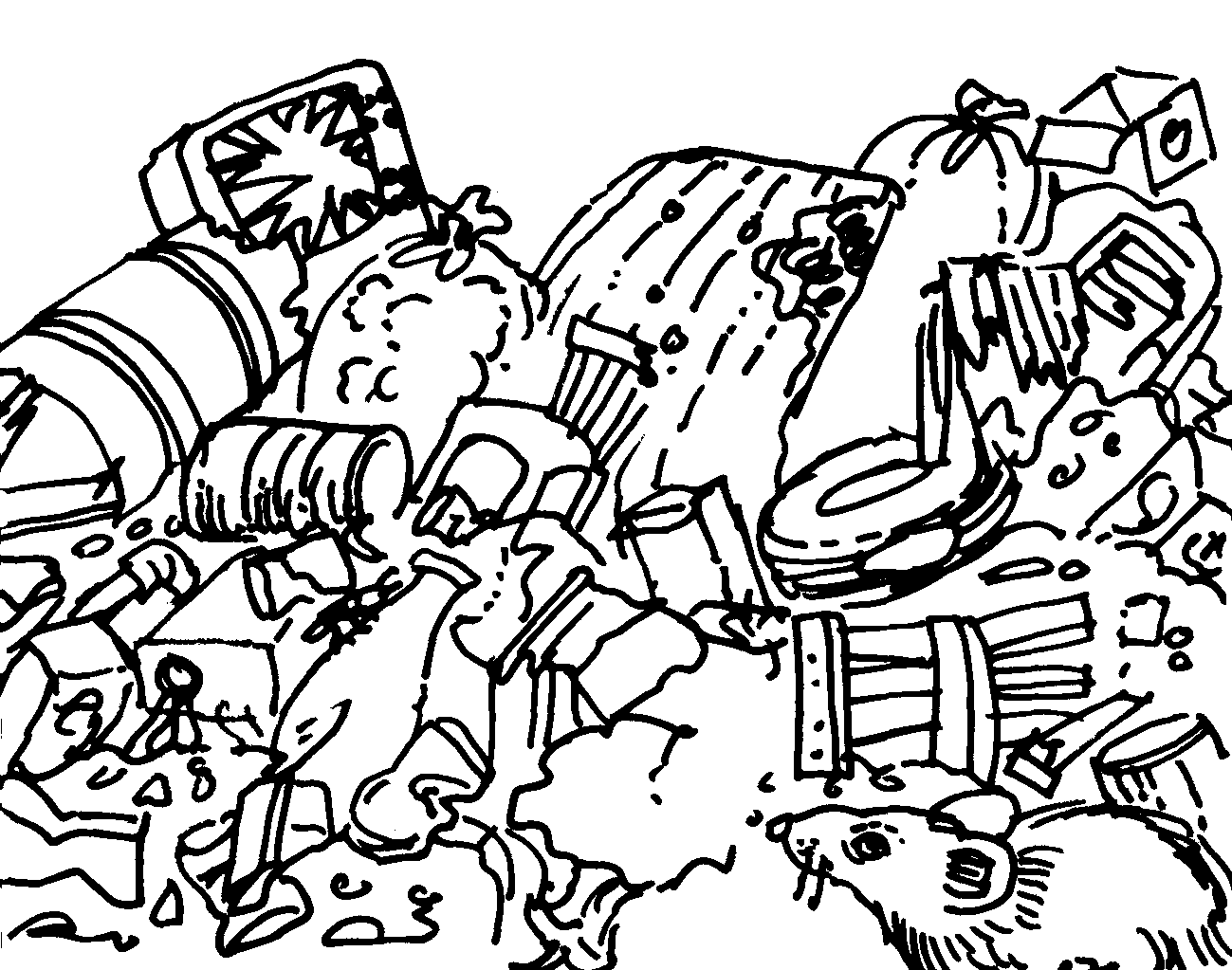 1299x1023 Pollute Coloring Pages