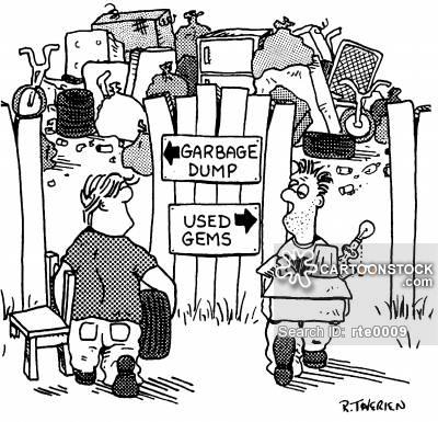 400x385 Land Fill Cartoons And Comics