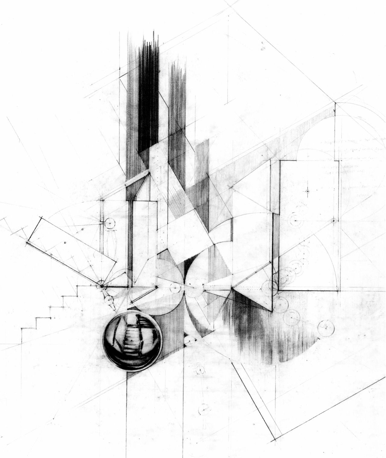 1280x1516 Drawing Architecture Hana Leah Bittner, So Familiar