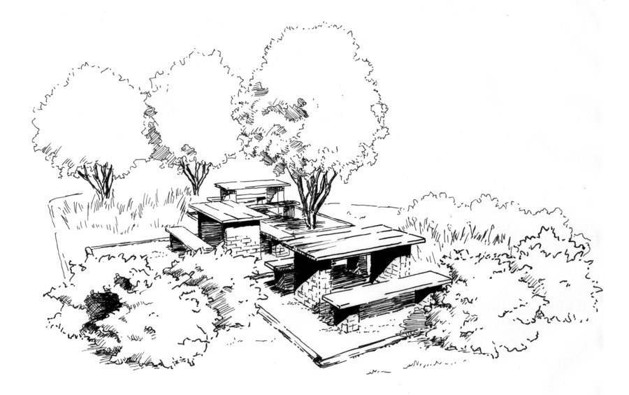 900x565 Landscape Architecture Perspective Drawings Best Landscape