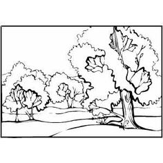 oil pastel coloring pages | Landscape Color Drawing With Oil Pastels at GetDrawings ...