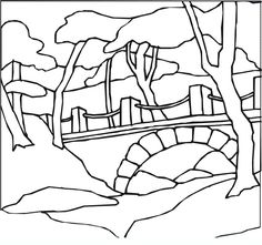 236x221 Free Landscape Coloring Pages Teaching Kids