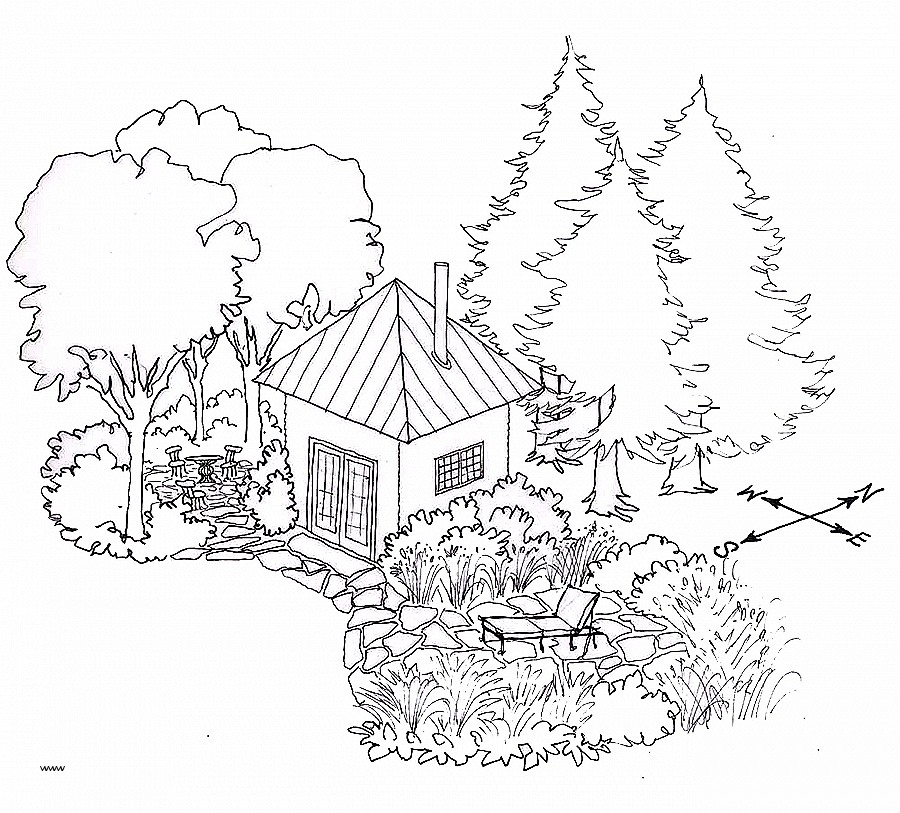 Landscape Design Drawing at GetDrawings.com | Free for personal use ...