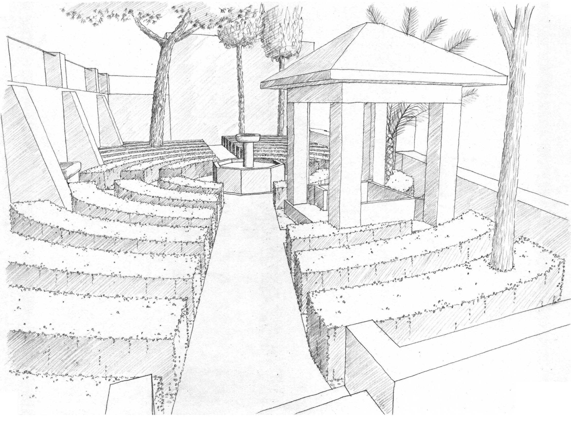 landscape design drawing at getdrawings com