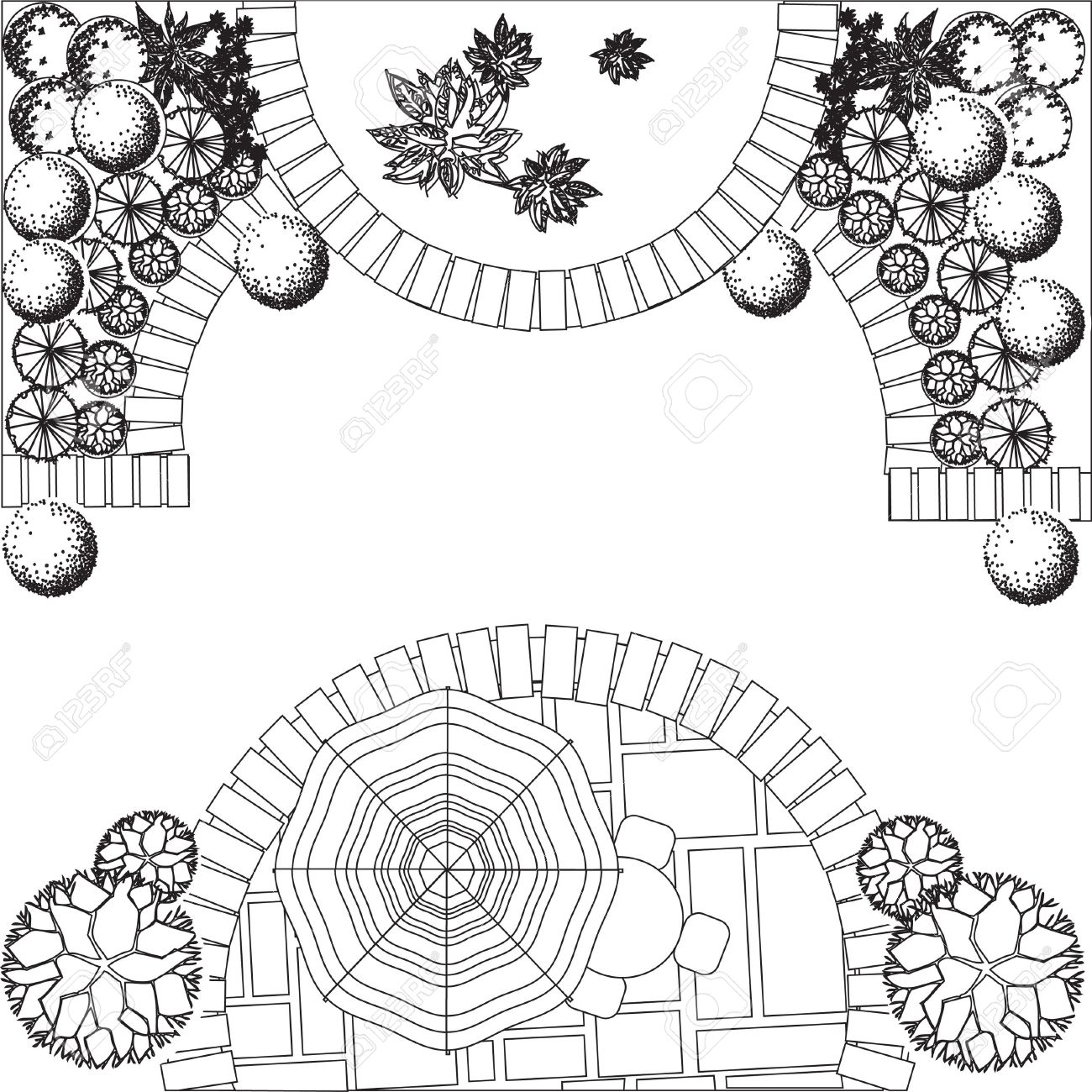 Landscape Design Drawing At Getdrawings Free Download