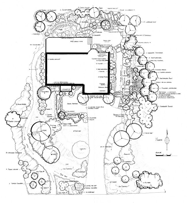 650x705 Atlanta Landscaping Plans