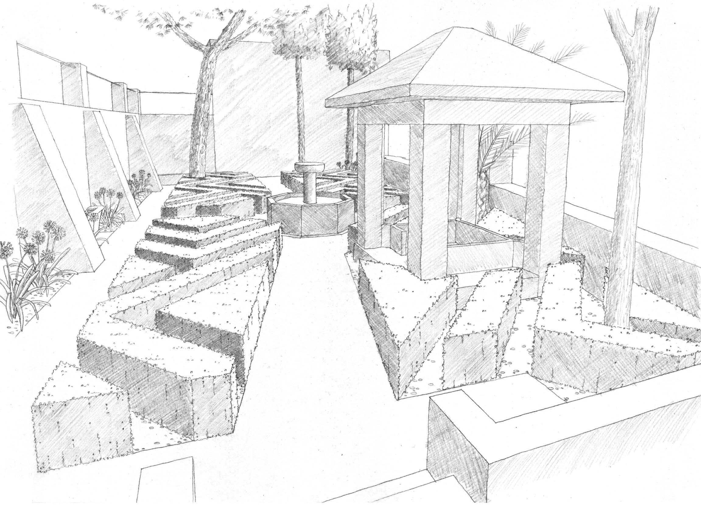 2303x1701 Landscape drawings Landscaping Pinterest Landscape drawings