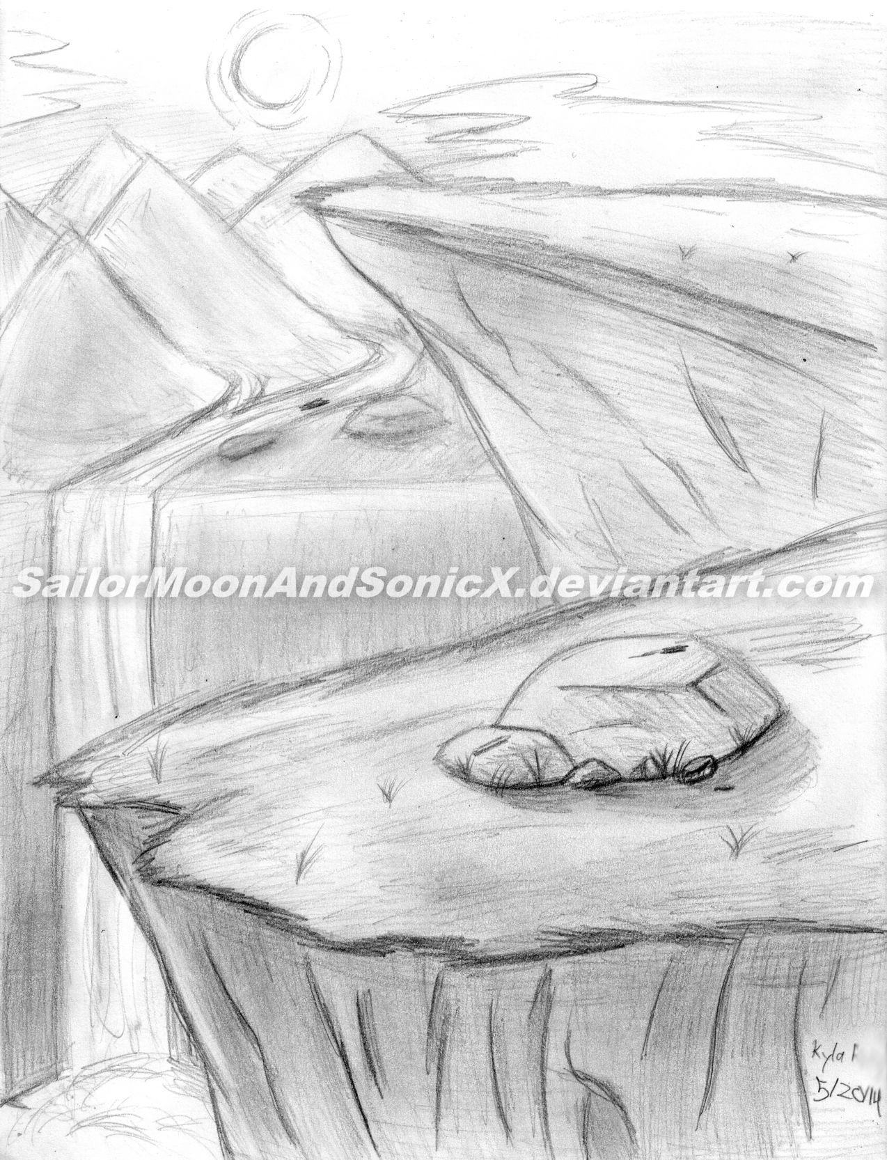1274x1666 Rocky Landscape by SailorMoonAndSonicX on DeviantArt
