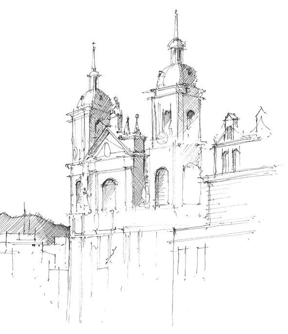 591x686 Gallery Pencil Draw Construction,