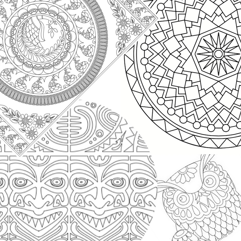 800x800 How To Print Coloring Pages For Adults