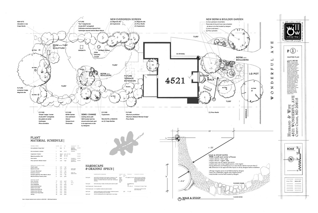 1080x724 Landscaping Design Drawings Newyorkutazas Info ~ Idolza
