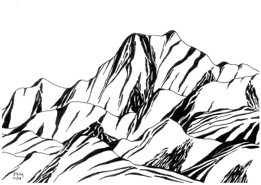 Line Drawing In Art : Landscape line drawing at getdrawings free for personal use