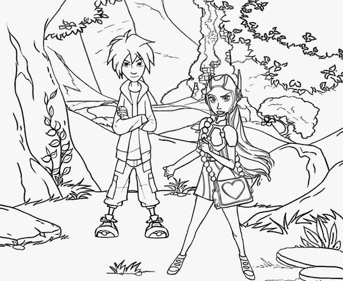 1100x900 Landscape Drawing For Kids Fantasy Landscape Drawing Kids Big Hero