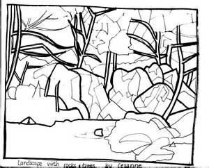 300x242 Landscape Outline Drawing
