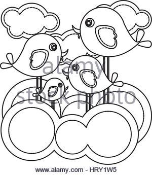 300x345 Vector Sketch Of Outline Drawing Landscape Stock Vector Art