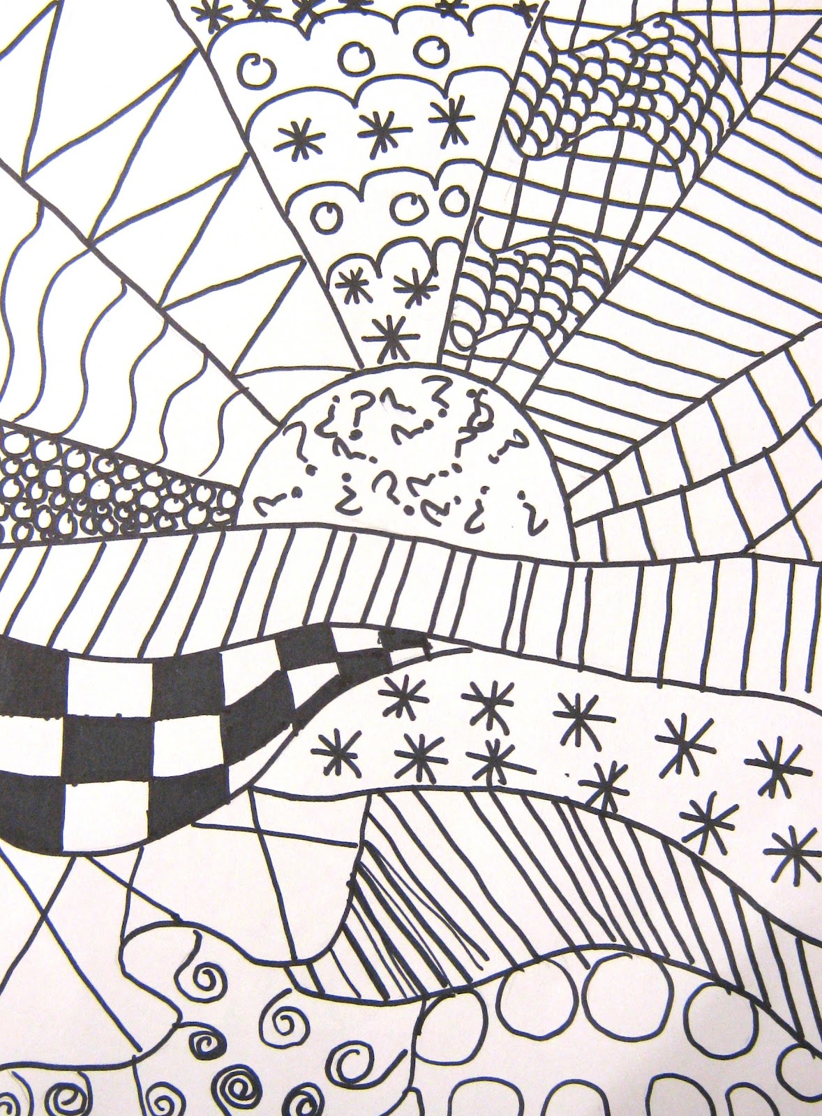 1178x1600 Art In The Middle School Pattern Crazy