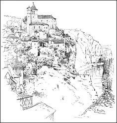 236x248 Drawing With Pen And Ink By Arthur L. Guptill Published By