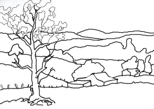 520x368 Right Brain Draw Session 6 Landscapes Amp Nature