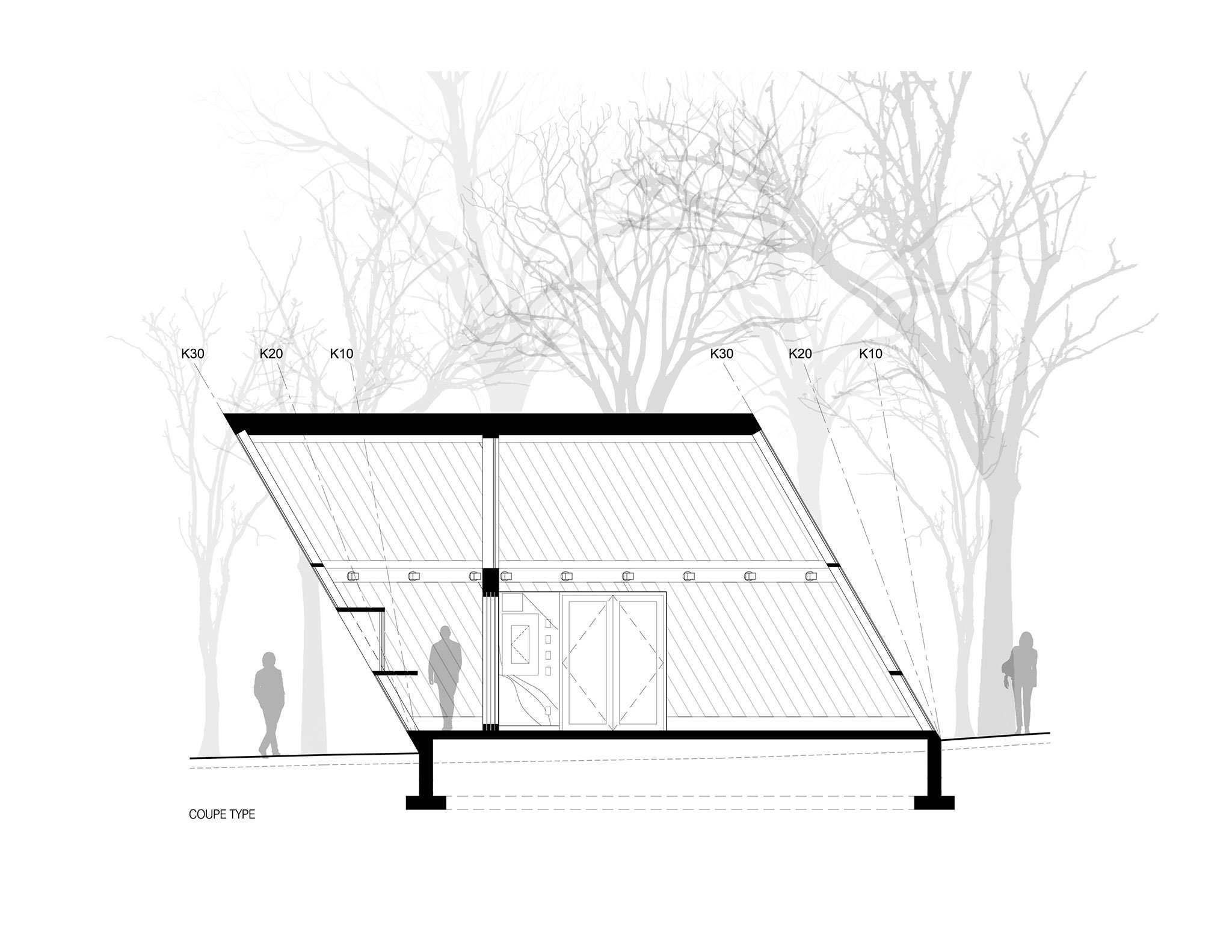 2048x1583 Moved By The Landscape, Mount Royal Kiosks By Atelier Urban Face