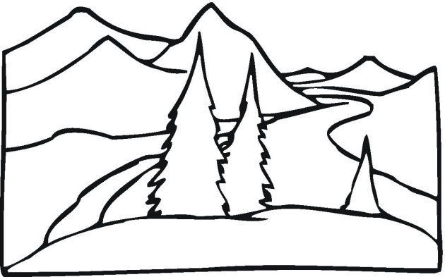 630x393 Simple Landscapes. Beautiful Learn To Draw Simple Landscapes
