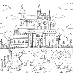 300x300 Happy Pub Day! Romantic Country A Fantasy Coloring Book By Eriy