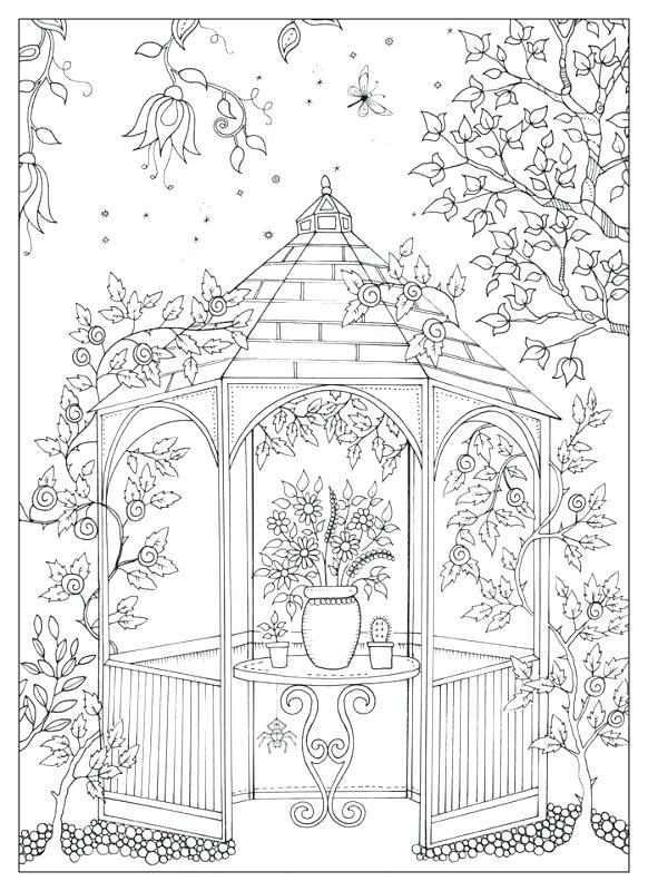 582x800 My Secret Garden Pdf Large Size Of B Coloring I Finally Finished
