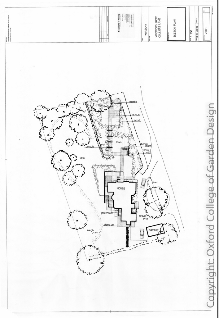 Landscaping Drawing