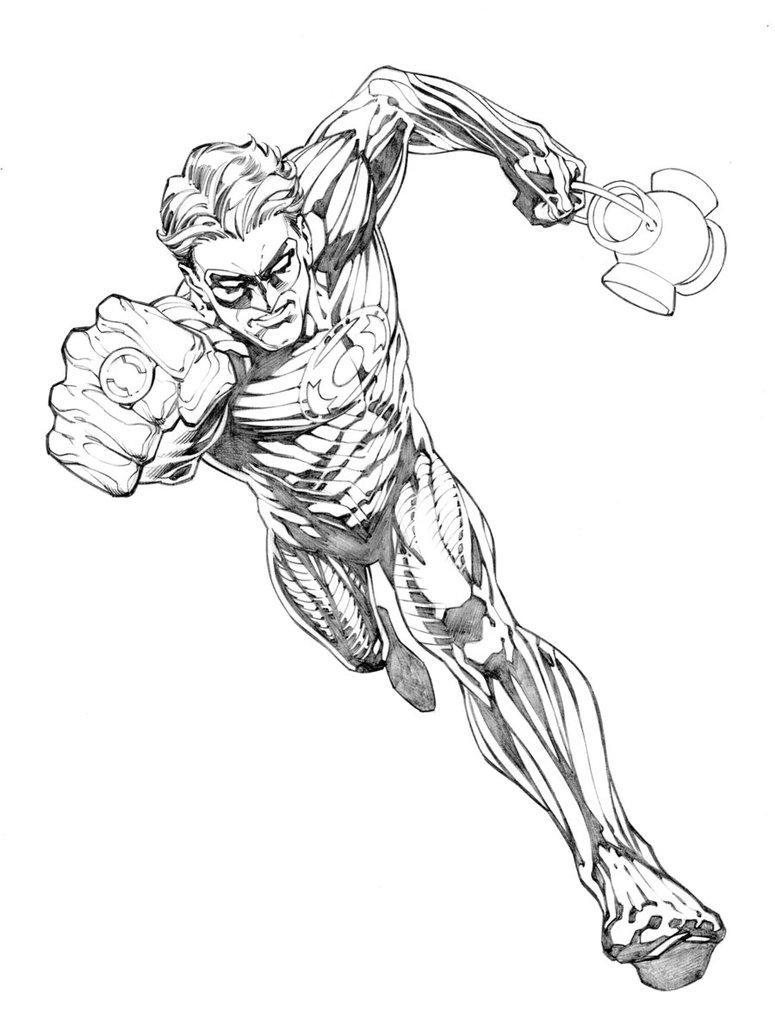 775x1030 Green Lantern Concept By Randygreen