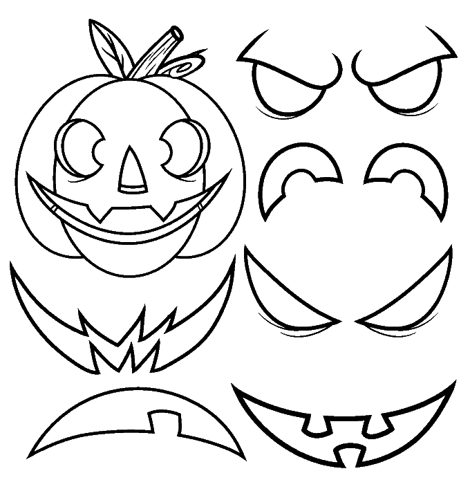 680x694 How To Draw A Jack O' Lantern Easy Drawing Guides