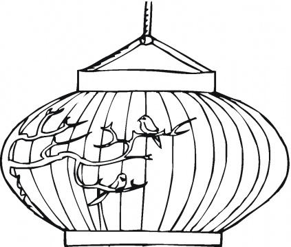 423x360 Chinese Decorated Lantern Color The Whole World
