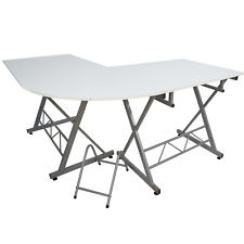 225x225 White L Desk Ebay