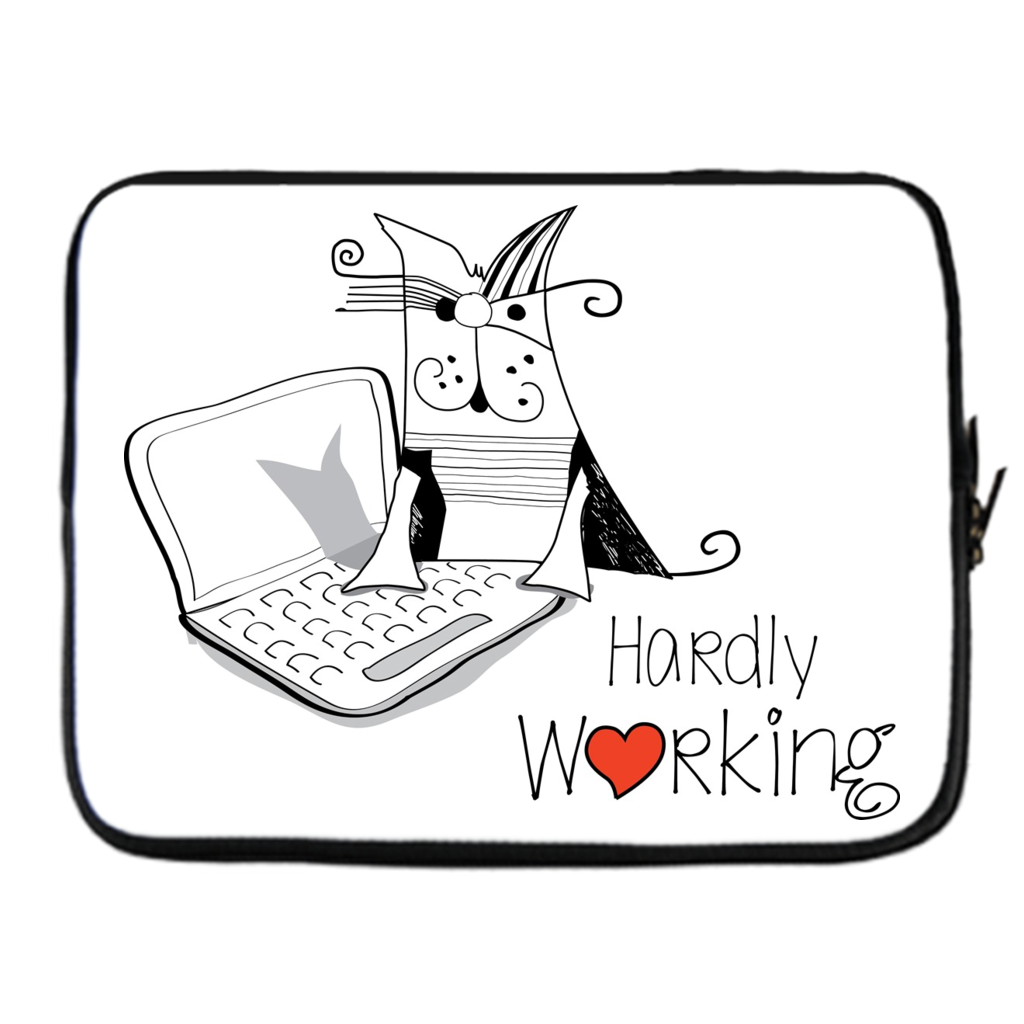1024x1024 Hardly Working Laptop Covers